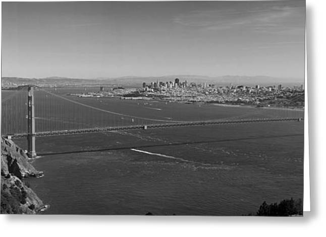 Golden Gate Bridge Greeting Card by Twenty Two North Photography