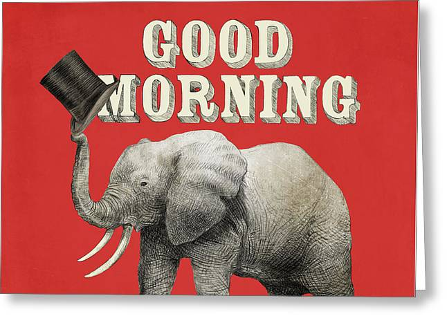 Good Morning Greeting Card by Eric Fan