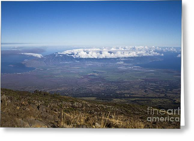 Good Morning Maui Greeting Card by Sharon Mau