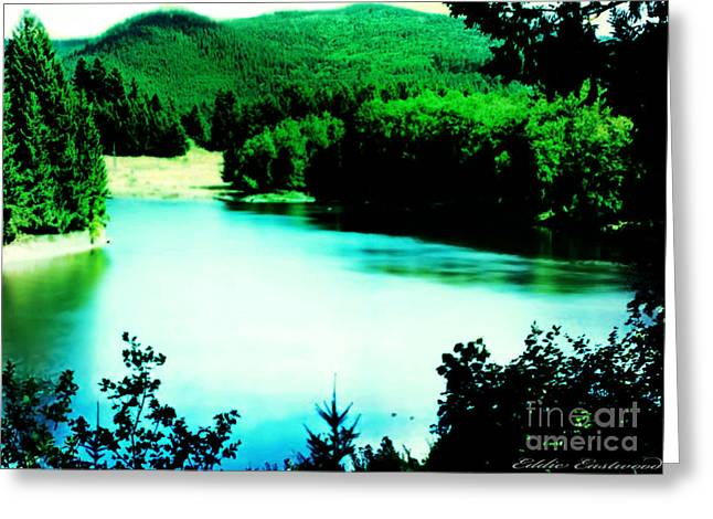 Gorge Waterway Victoria British Columbia Greeting Card