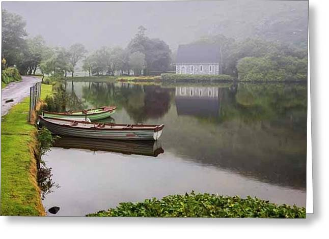 Gougane Barra, Ireland Greeting Card by Ken Welsh