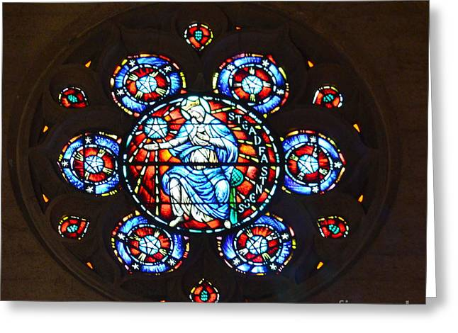 Grace Cathedral Greeting Card by Dean Ferreira