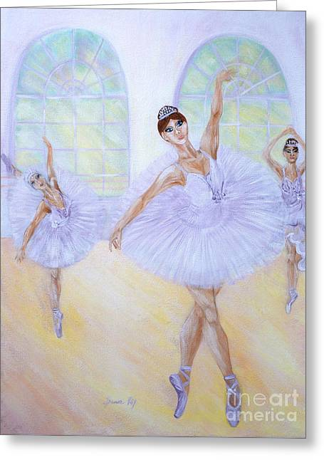 Grace Of Dance. Inspirations Collection. Greeting Card