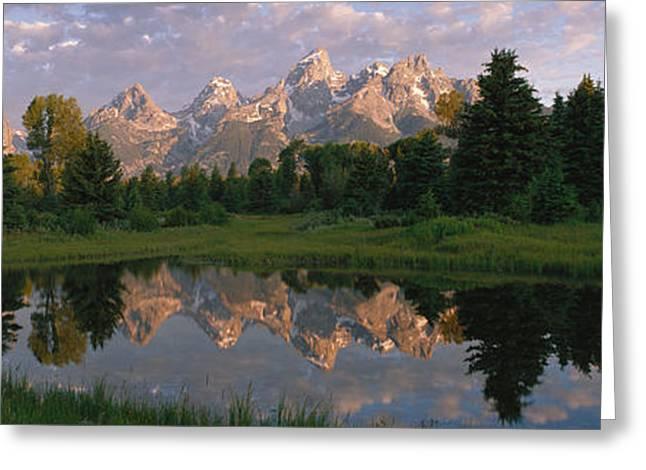 Grand Teton Park, Wyoming, Usa Greeting Card by Panoramic Images