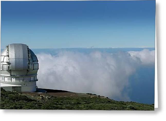 Grantecan Telescope Greeting Card