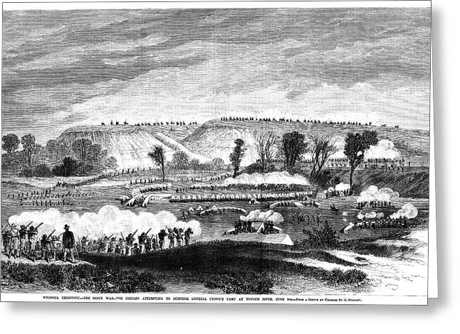 Great Sioux War, 1876 Greeting Card