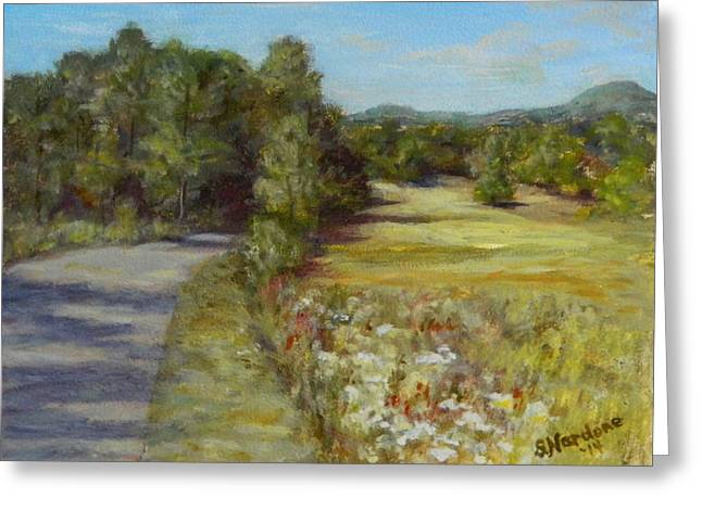 Greenville Road Greeting Card