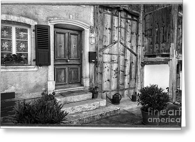 Gruyeres Home Greeting Card by Timothy Hacker