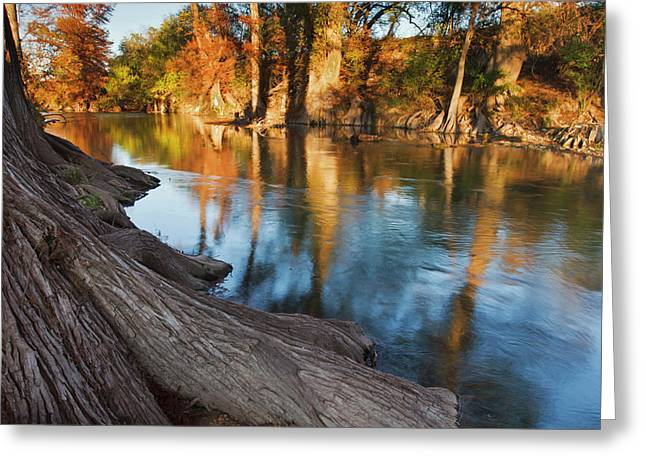 Guadalupe River, Texas Hill Country Greeting Card