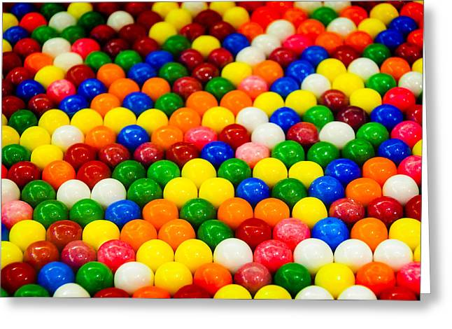 Gum Balls Greeting Card