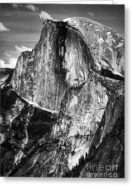 Half Dome Greeting Card by Paul W Faust -  Impressions of Light