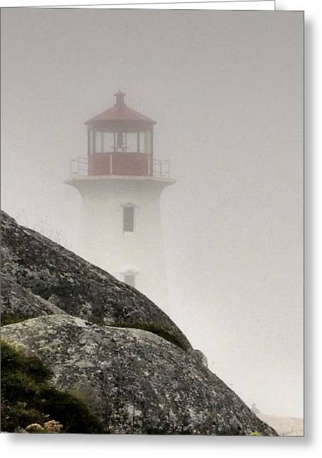 Halifax Fog Greeting Card