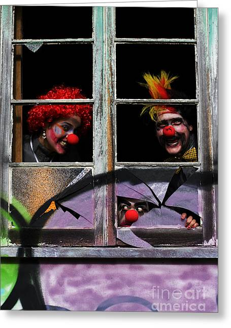 Halloween House Party Greeting Card by Jorgo Photography - Wall Art Gallery