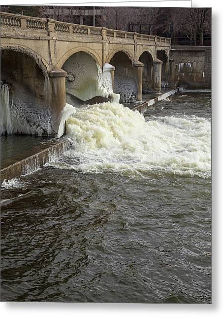 Hamilton Dam Greeting Card