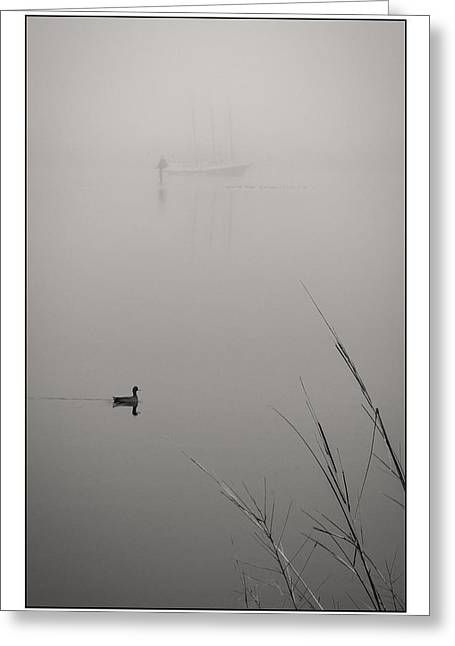 Harbor Fog No.2 Greeting Card