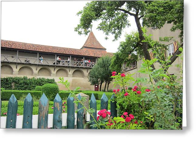 Harburg Castle Greeting Card