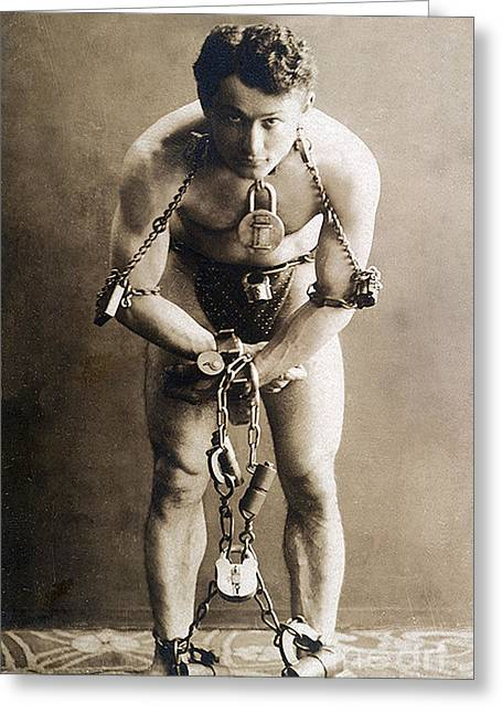 Harry Houdini, Hungarian-american Greeting Card