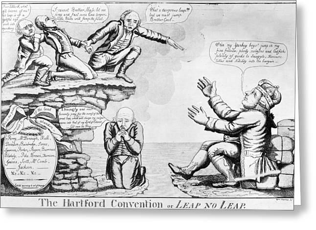 Hartford Convention, 1815 Greeting Card