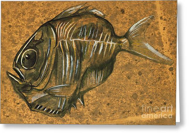 Hatchet Fish Greeting Card