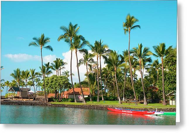 Hawaii, Big Island, Kona-kailua Greeting Card