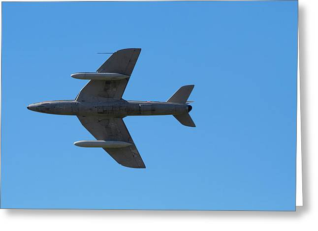 Hawker Hunter Jet Fighter Greeting Card by David Wall