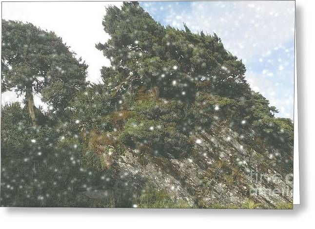 Hehuanshan Greeting Card