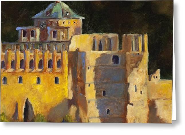 Heidelberg Schloss Greeting Card