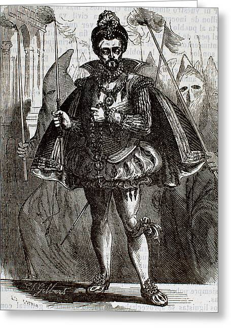 Henry IIi Of France (1551-1589 Greeting Card by Prisma Archivo