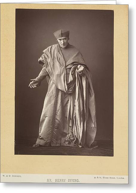 Henry Irving Greeting Card by British Library