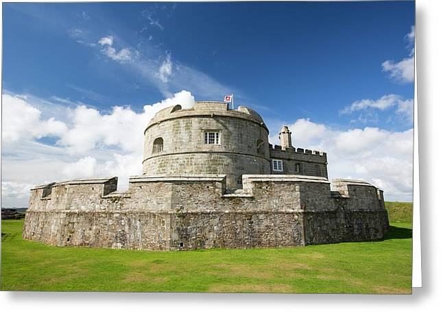 Henry Viii's Fort At Pendennis Castle Greeting Card by Ashley Cooper