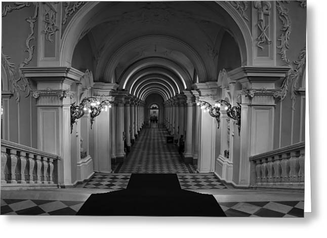Hermitage Museum Greeting Card by Tin Lung Chao