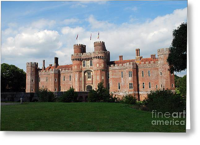 Herstmonceux Castle Greeting Card