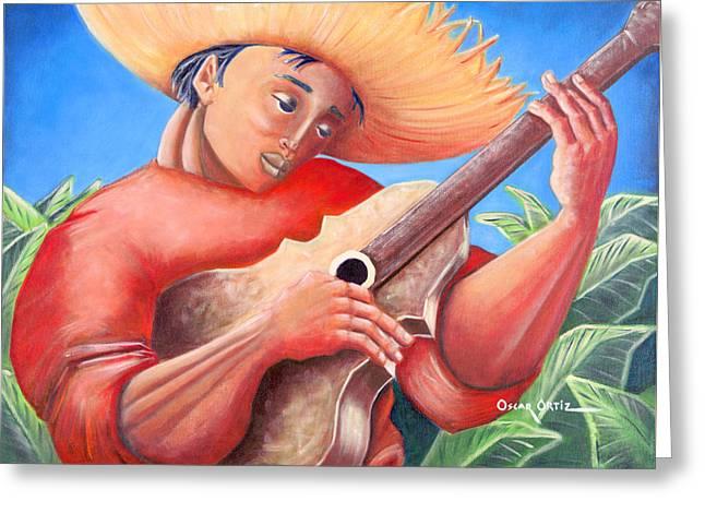 Hidalgo Campesino Greeting Card