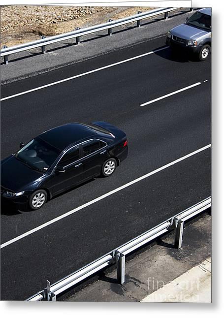 Highway Scene Greeting Card