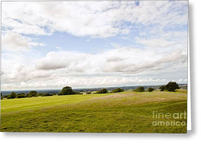 Hill Of Tara Greeting Card