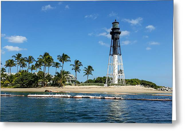 Hillsboro Inlet Lighthouse Greeting Card