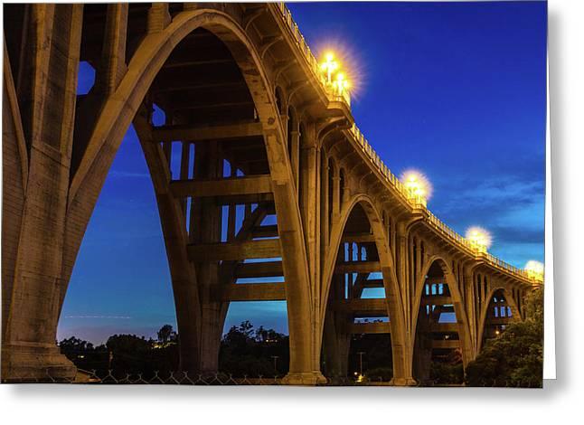Historic Colorado Bridge Arches Greeting Card
