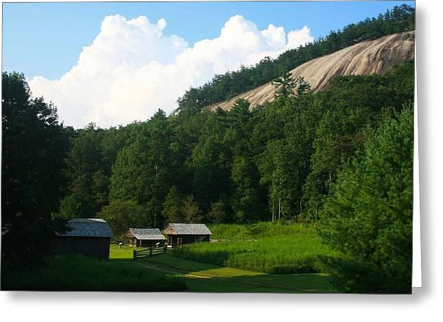 Historic Mountain Homestead Greeting Card
