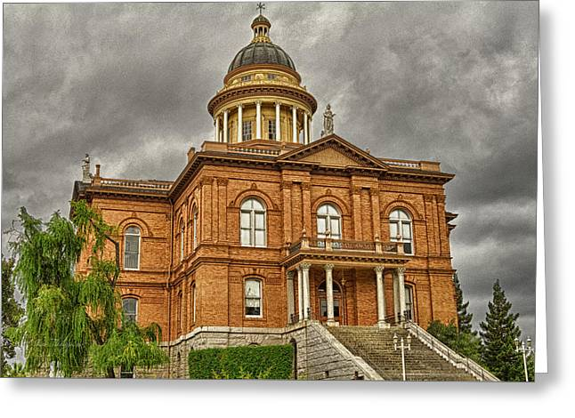 Historic Placer County Courthouse Greeting Card