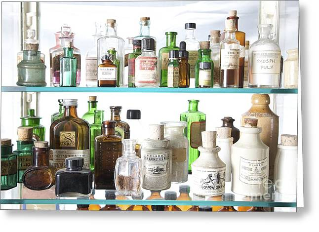 Historical Medicinal Products Greeting Card