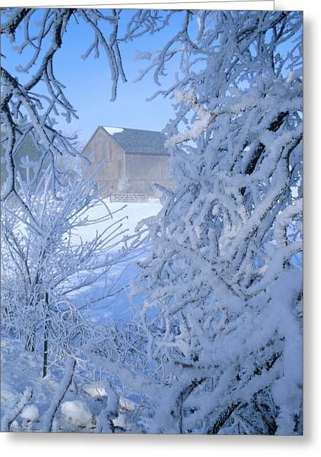 Hoarfrost Farm Greeting Card