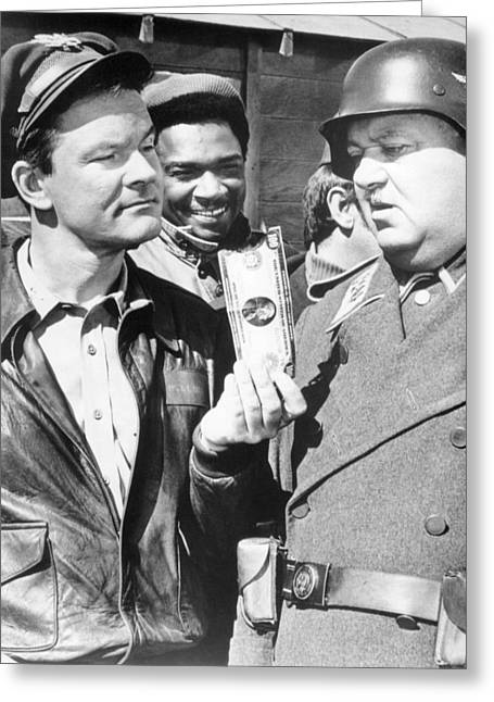 Hogan's Heroes  Greeting Card by Silver Screen