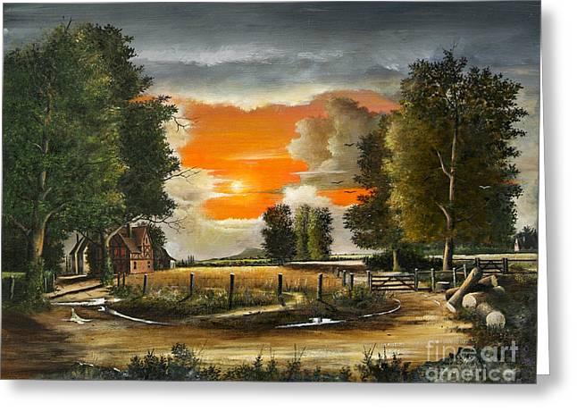 Hoggets Farm Greeting Card