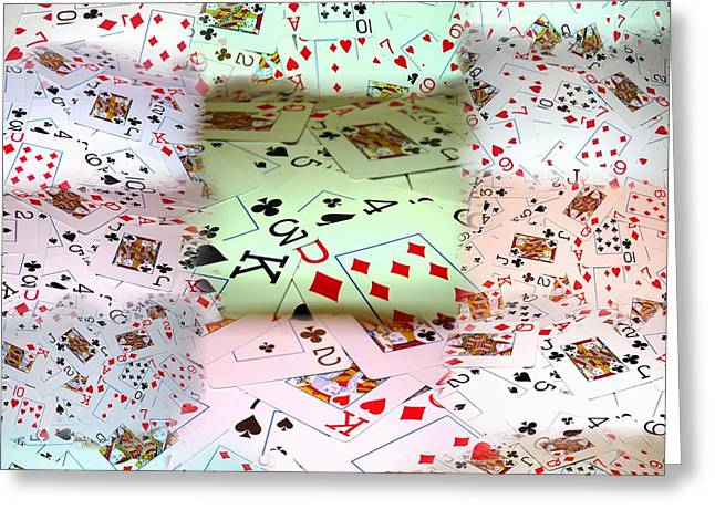 Hold 'em Greeting Card