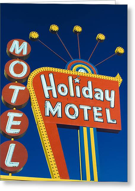 Holiday Motel Greeting Card