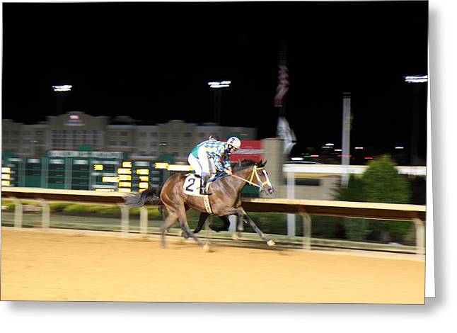 Hollywood Casino At Charles Town Races - 12128 Greeting Card by DC Photographer