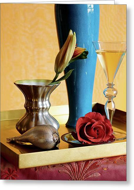 Home Accessories Greeting Card by Beatriz Da Costa