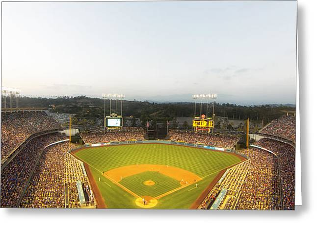 Home Of The Dodgers Greeting Card by Mountain Dreams