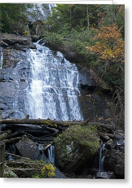 Horse Trough Falls Greeting Card