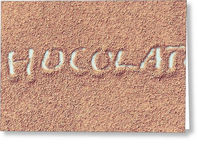 Hot Chocolate Greeting Card by Tom Gowanlock